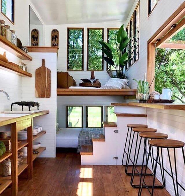 Aprende a autoconstruir tu propia mini casa.